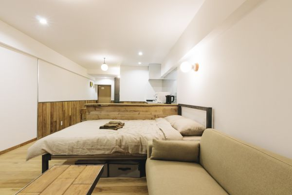 Rustic Open-plan Apartment in Ikebukuro