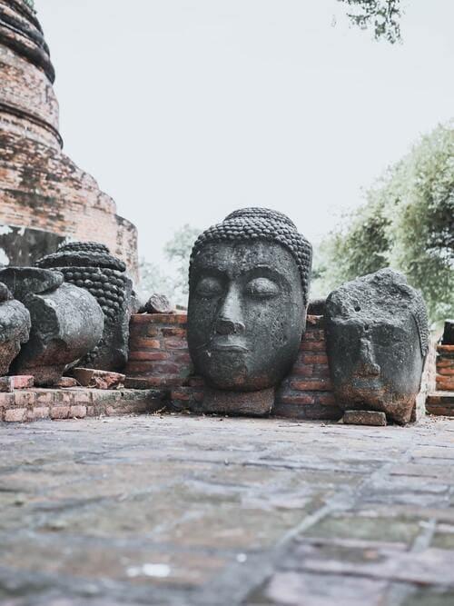 Are Buddha Heads Disrespectful?