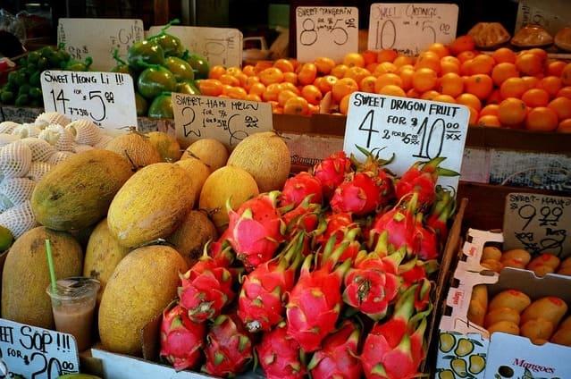 Testing the sweetness of dragon fruits: Using BRIX