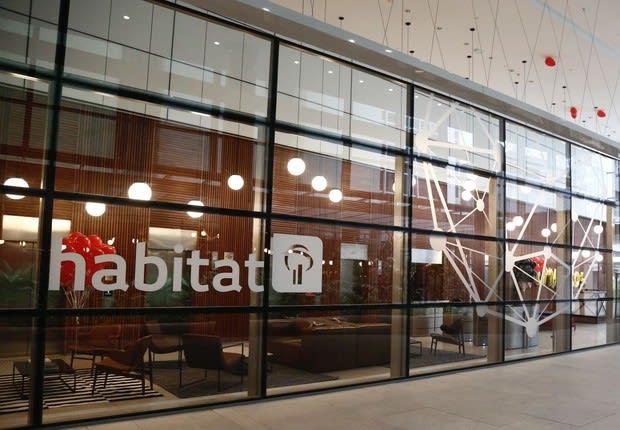 Fachada do Habitat, hub de inovação do Bradesco