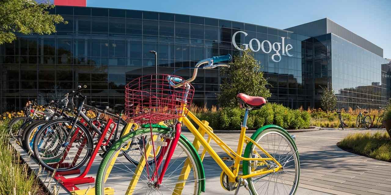 Fonte: Spotlight - Foto da fachada do Google no Sillicon Valley.