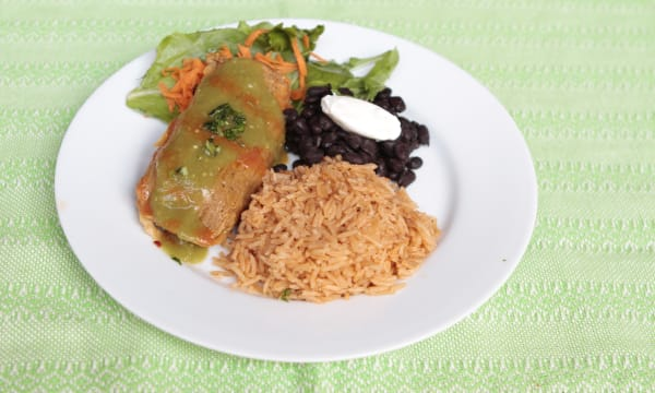 Sample catering from Alicia's Tamales Los Mayas