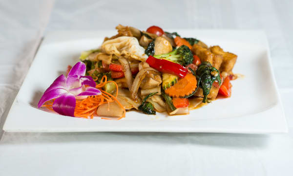 Sample catering from Baan Restaurant & Wine Bar