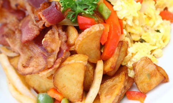Sample catering from Baysider Cafe