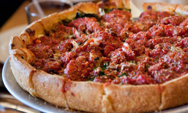 Sample catering from Blue Line Pizza - Burlingame