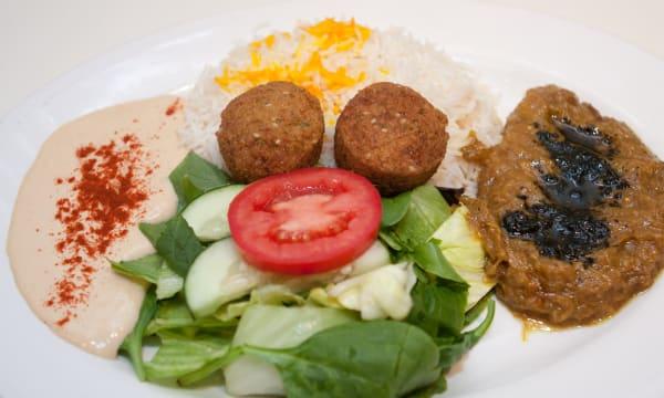 Sample catering from Chelokababi