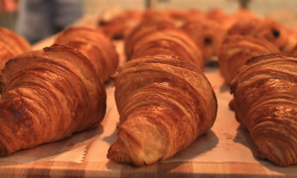 Sample catering from Croissanteria