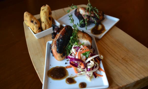 Sample catering from Excell's Kingston Eatery