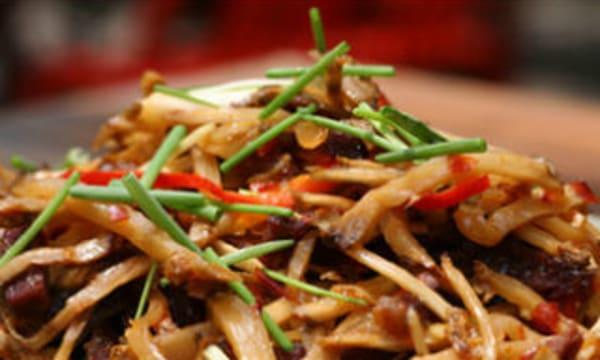 Sample catering from Hangen Szechuan Restaurant