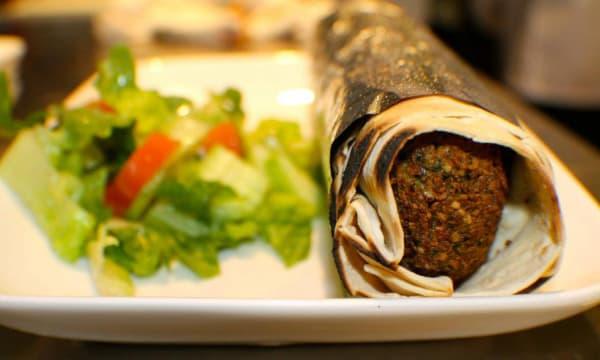 Sample catering from Hummus Mediterranean Kitchen