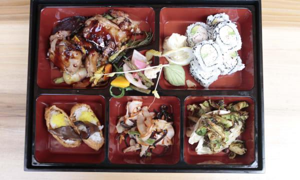 Sample catering from Kawashima's Kitchen