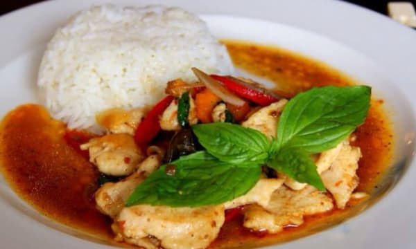 Sample catering from Khao Sarn Thai