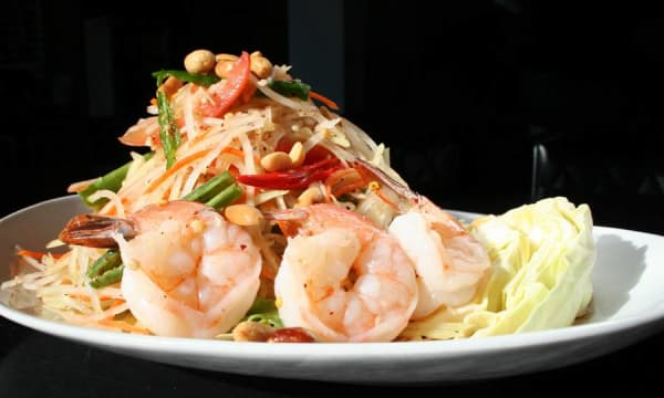 Sample catering from KRUA Thai