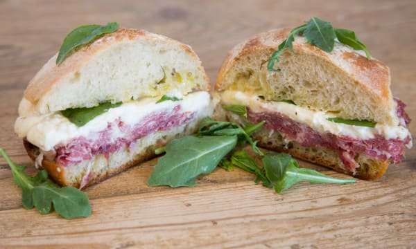 Sample catering from La Fromagerie
