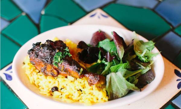 Sample catering from La Mediterranee