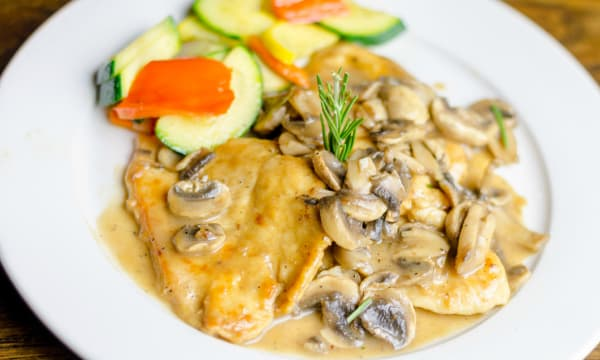 Sample catering from Graziella's