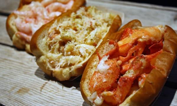 Sample catering from Luke's Lobster