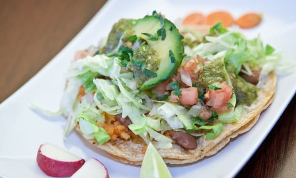 Sample catering from Mexcal Taqueria
