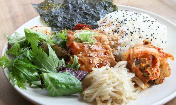 Sample catering from Namu Gaji