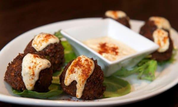 Sample catering from Papa Kebab