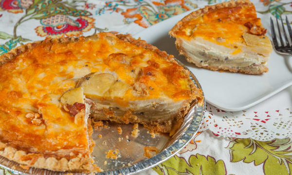 Sample catering from Quiche & Carry