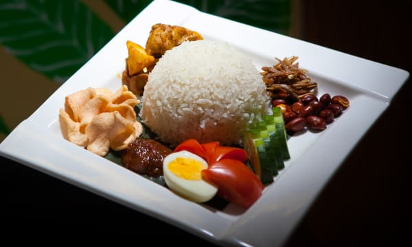 Sample catering from Rasa