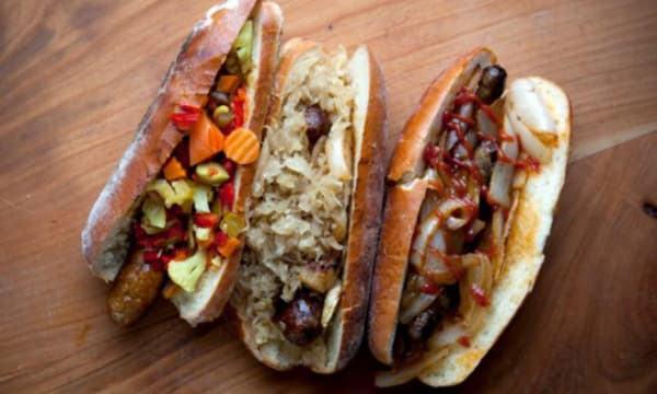 Sample catering from Rosamunde NY