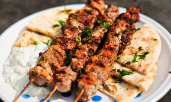 Sample catering from Souvlaki GR