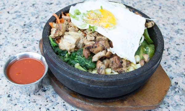 Sample catering from Stone Korean Kitchen