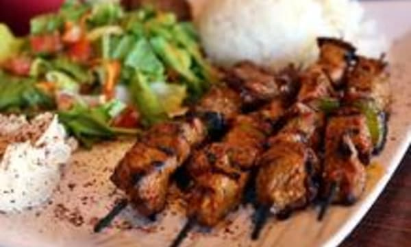 Sample catering from Sultan's Kebab