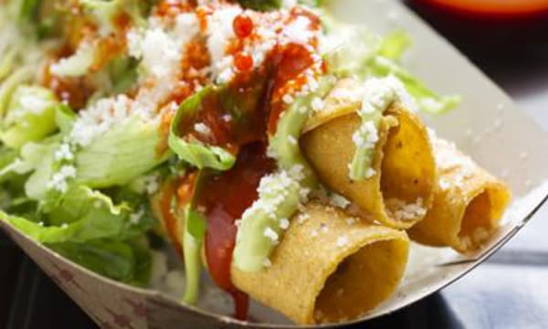 Sample catering from Taquitoria