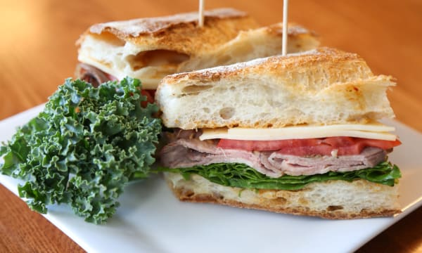 Sample catering from The Sandwich Spot