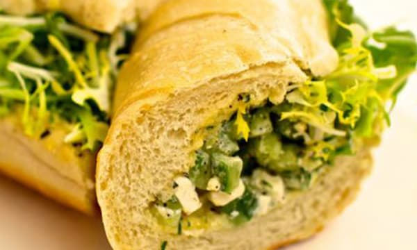 Sample catering from White Apron Specialty Sandwiches
