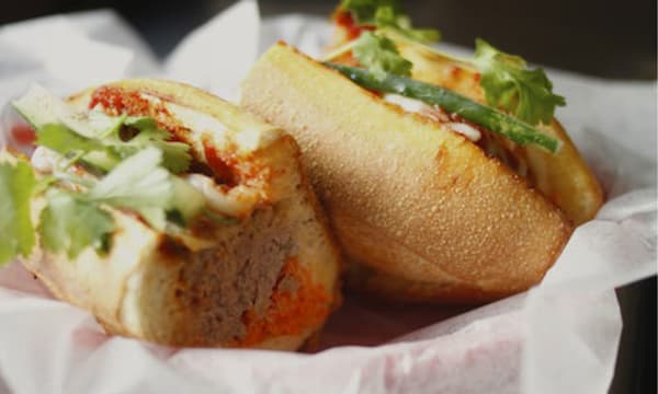 Sample catering from Xe May Sandwich Shop