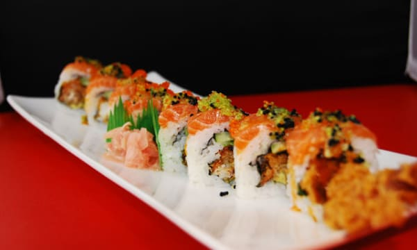 Sample catering from Kikusushi Japanese Restaurant and Bar