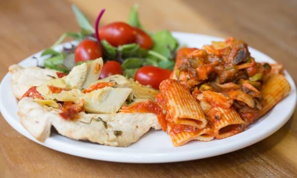 Sample catering from Trattoria da Vittorio