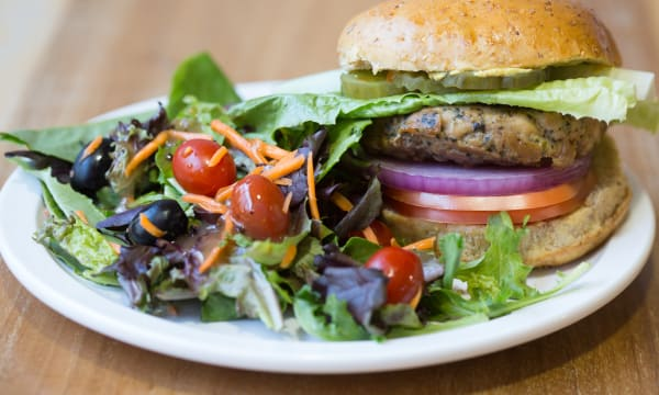 Sample catering from Worldly Burgers