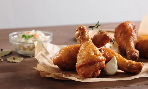 Sample catering from BonChon Chicken Sunnyvale