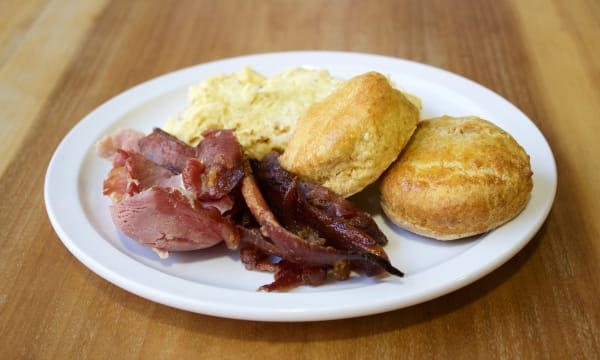 Sample catering from SunnySide Biscuits