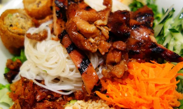 Sample catering from Green Leaf Asian Bistro and Cafe
