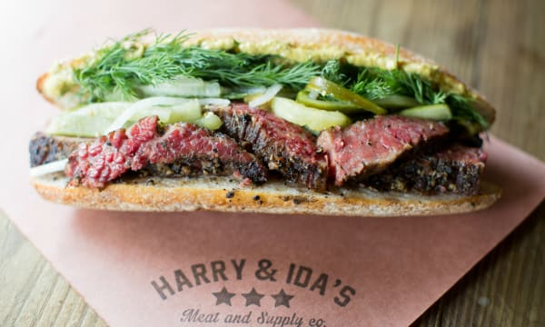 Sample catering from Harry and Ida's