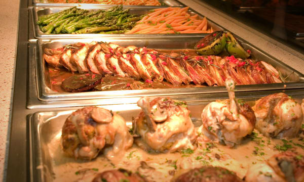 Sample catering from Harborside Club