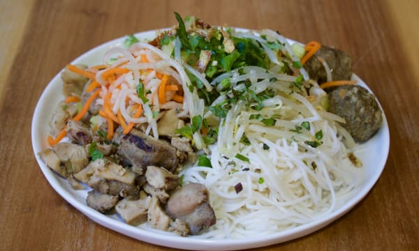 Sample catering from Bamboo Asia