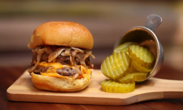 Sample catering from Mark Burger