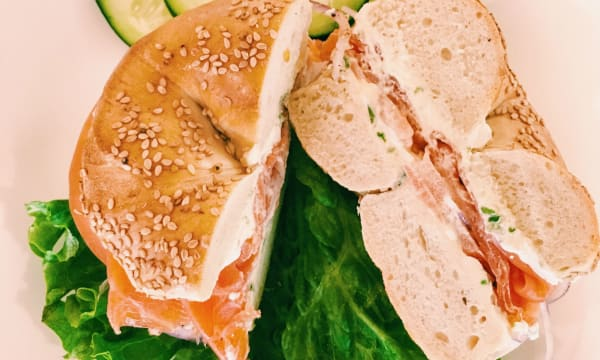 Sample catering from Bagel Express