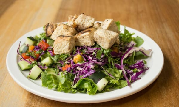 Sample catering from Seasonal Salad Bar By 2Forks