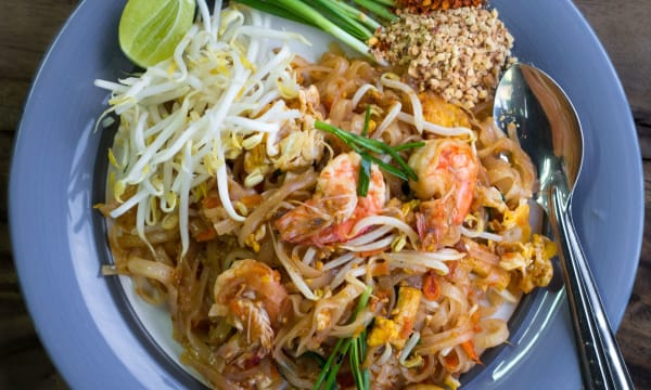 Sample catering from Lan Larb Thai