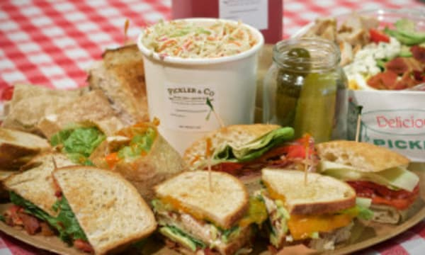 Sample catering from Pickler & Co