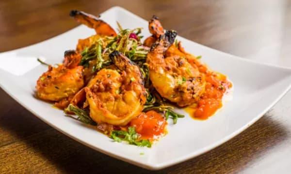 Sample catering from Nimbooda Indian Restaurant