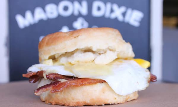 Sample catering from Mason Dixie Biscuit Co.